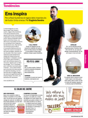 Entrevista / Interview  en Time Out Barcelona  # 05-2014